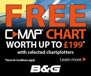 B&G C-MAP Free Chart 2018 300x250