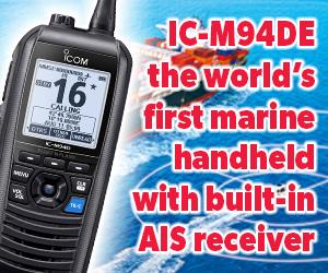 IC-M94DE VHF Marine Transceiver with DSC & AIS Receiver