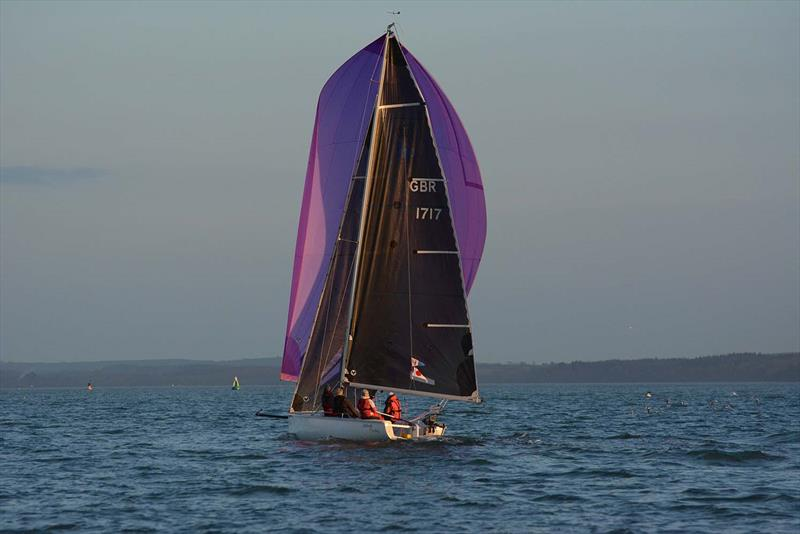 Midnight Cowboy on day 3 of the Hamble River Early Bird Series  - photo © Trevor Pountain