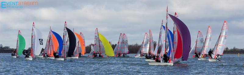 29er Noble Marine Winter Championship and Harken Grand Prix 1 at Draycote Water - photo © Dominic Cotterill / www.eventstreammedia.co.uk