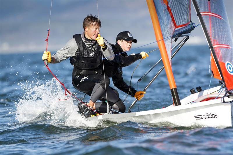 Racing duo Chrispin Beaumont and Tom Darling, both 18,winners of 2016 British  youth and national championships, and the Youth World championship in Auckland, New Zealand - photo © World Sailing