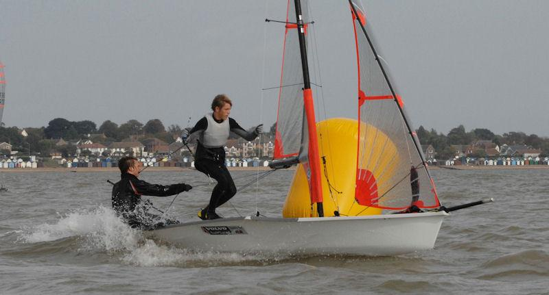 Harken 29er Grand Prix at Dabchicks photo copyright Pete Bucktrout taken at Dabchicks Sailing Club and featuring the 29er class