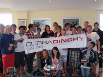 Prize winners at the 420 nationals held at Brightlingsea