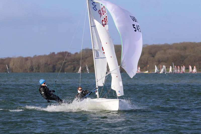 John Merricks Tiger Trophy Pursuit Race at Rutland Water - photo © Martin Hollingshead