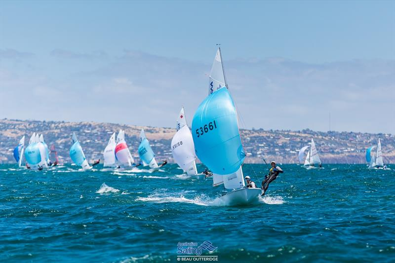 Australian Youth Championship 2017 day 1 at Adelaide - photo © Beau Outteridge / Australian Sailing