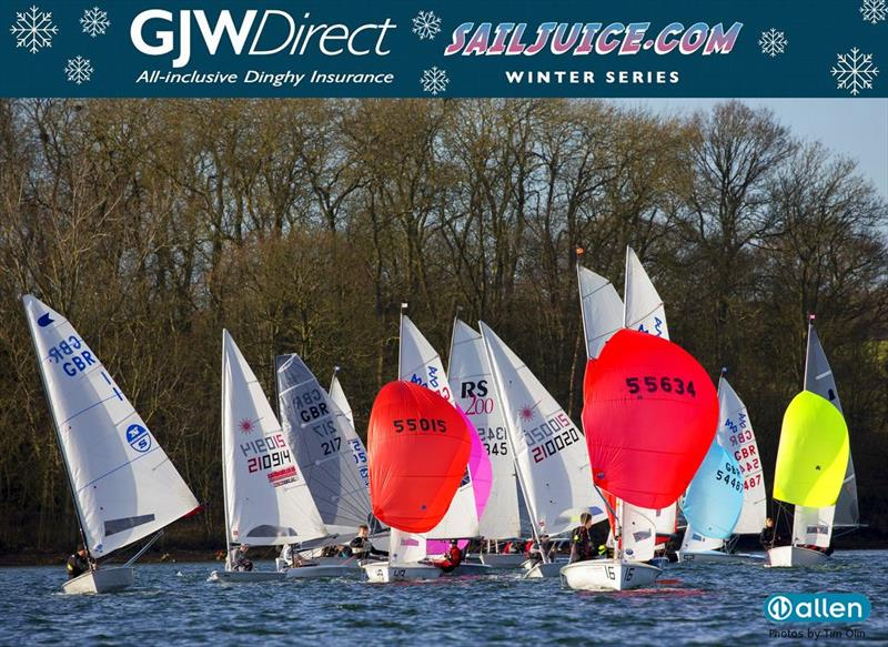 John Merricks Tiger Trophy - GJW Direct Sailjuice Winter Series Round 6 - photo © Tim Olin / www.olinphoto.co.uk