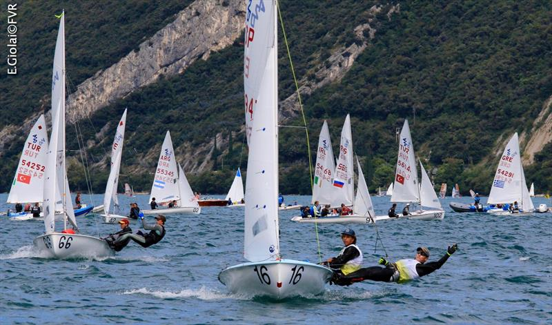 420 and 470 Junior Europeans at Lake Garda day 5 - photo © Elena Giolai