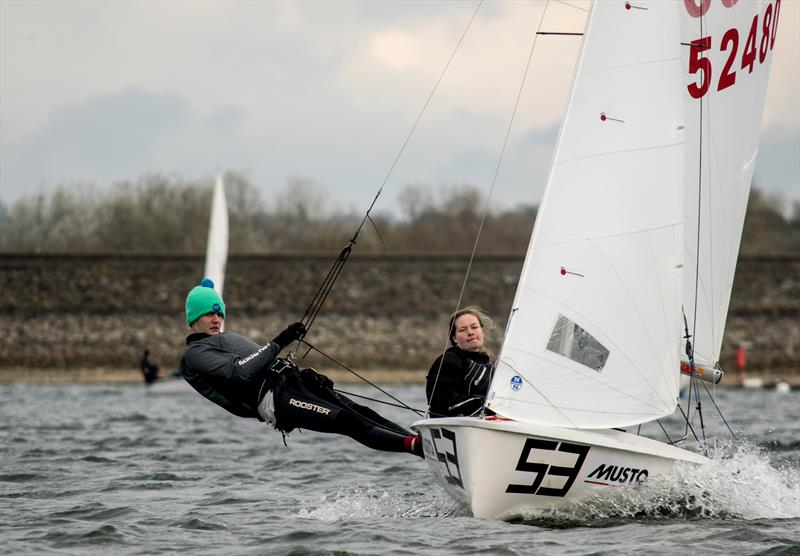 Jenny Smallwood & Paddy Jefferies (Manchester) during the BUCS Fleet Racing Championships - photo © JJRE Photos / www.instagram.com/JJREast/