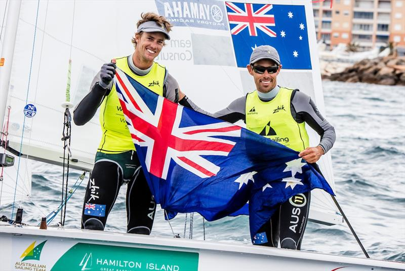 Men's 470 gold for Belcher and Ryan at World Cup Hyères - photo © Jesus Renedo / Sailing Energy / World Sailing