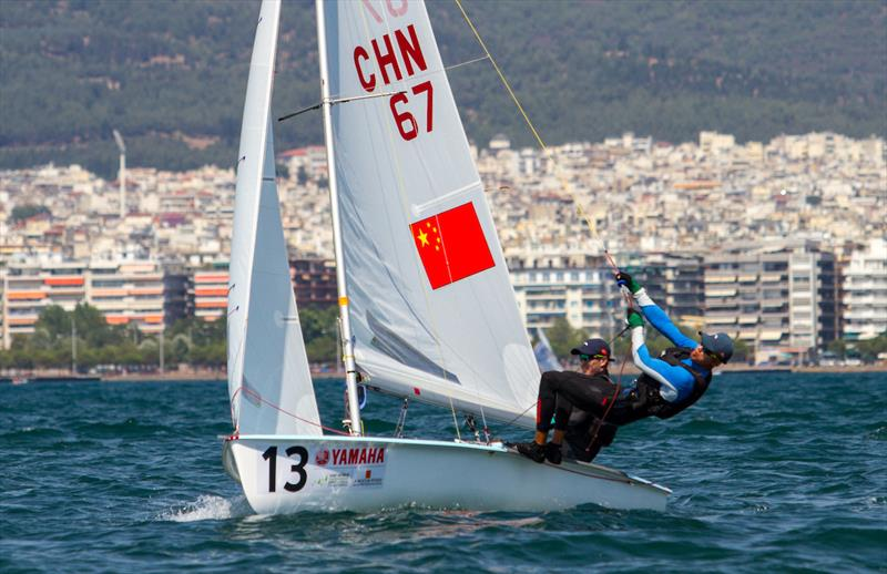Day 5 at the 470 Worlds - photo © Nikos Alevromytis / International 470 Class