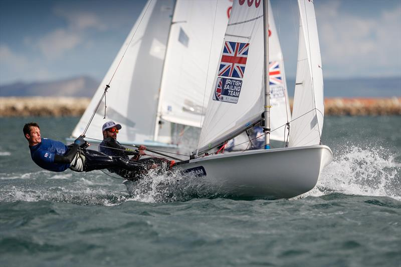 Luke Patience & Chris Grube during the 2017 RYA Olympic Classes National Ranking series finale - photo © Paul Wyeth / RYA