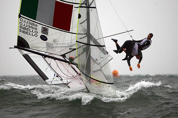europe dinghy rigging