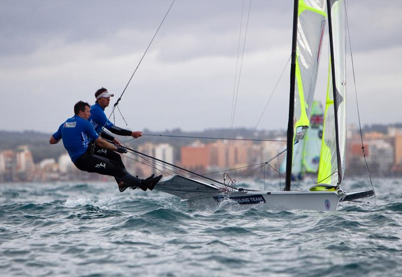 ISAF Sailing World Cup Mallorca day 5 - photo © Richard Langdon / www.oceanimages.co.uk