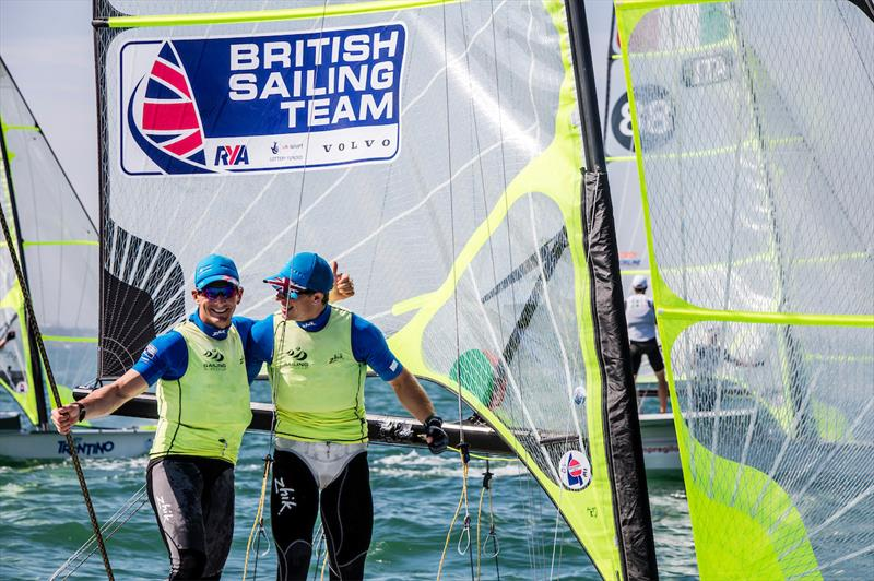 Dylan Fletcher & Stuart Bithell win at World Cup Series Miami - photo © Jesus Renedo / Sailing Energy / World Sailing