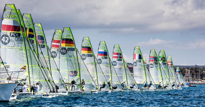49ers at the 48th Trofeo Princesa Sofia IBEROSTAR - photo © Jesus Renedo / Sailing Energy / Trofeo Princesa Sofia IBEROSTAR