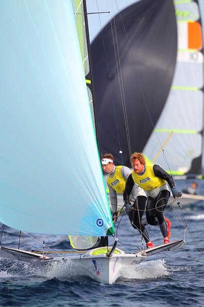 Semaine Olympique Francaise day 4 photo copyright Richard Langdon / Ocean Images taken at  and featuring the 49er class