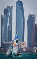 on day 1 of the ISAF Sailing World Cup Final in Abu Dhabi - photo © Jesus Renedo / Sailing Energy / ISAF