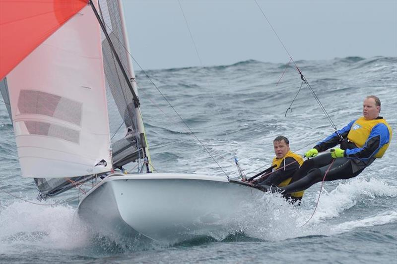 The evergreen Ian Pinnell should be an inspiration to us all! His is the living proof that dinghy racing, even at the highest level, is remarkably non-ageist! - photo © SAP 505 / Christophe Favreau