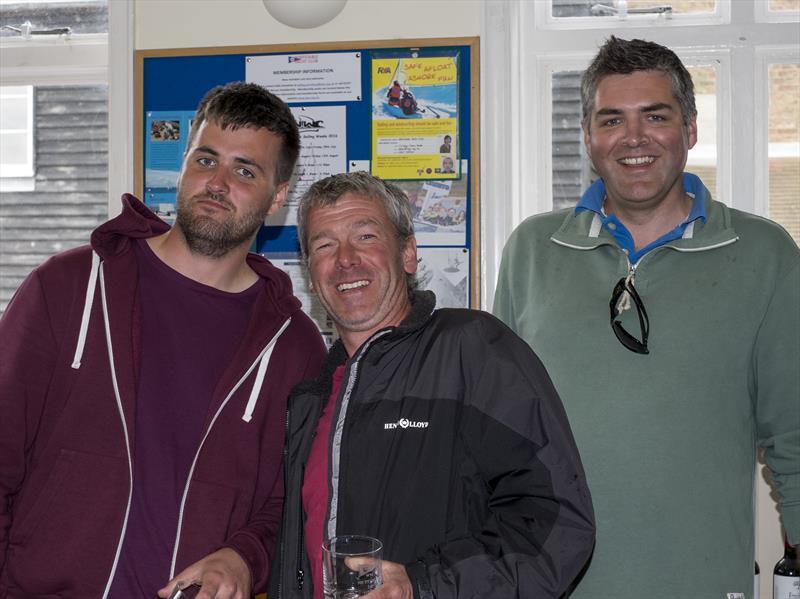 Whitstable 505 Open prize winners - photo © Stuart France