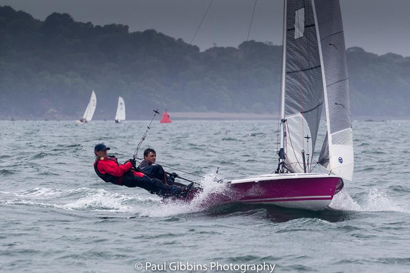 2017 Plymouth Dinghy Regatta photo copyright Paul Gibbins Photography taken at Royal Western Yacht Club and featuring the 505 class