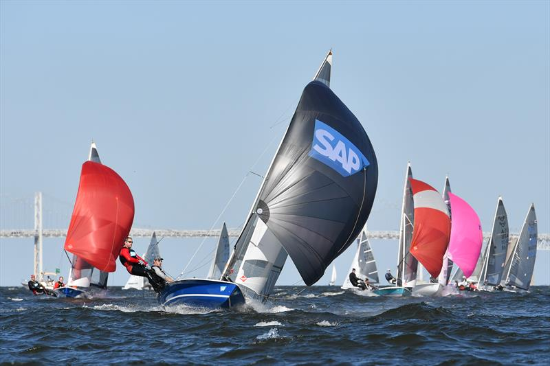 2017 SAP 5O5 Worlds at Annapolis - photo © Bill Wagner