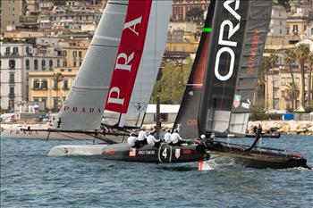 America's Cup World Series Naples 'Super Sunday'