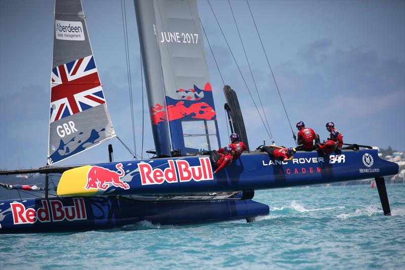 Land Rover BAR win the Red Bull Youth America's Cup - photo © Harry KH / Land Rover BAR