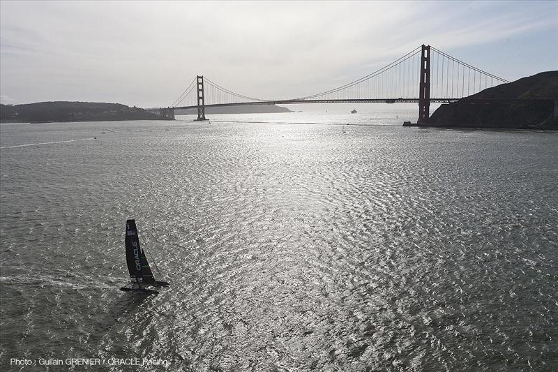 ORACLE Racing back on the San Francisco Bay