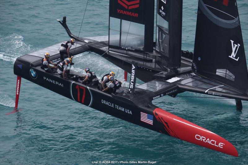ORACLE TEAM USA on day 6 of the 35th America's Cup - photo © ACEA 2017 / Gilles Martin-Raget