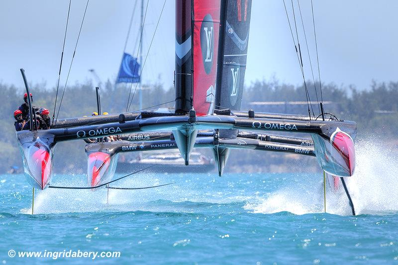 Emirates Team New Zealand dominate again on day 2 of the 35th America