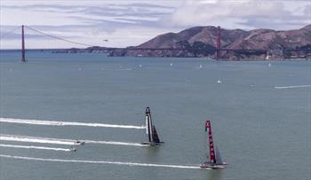 Louis Vuitton Cup Semi Finals race 3