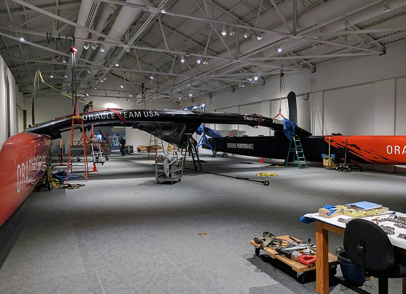 ORACLE TEAM USA AC72 at The Mariners' Museum - photo © The Mariners' Museum