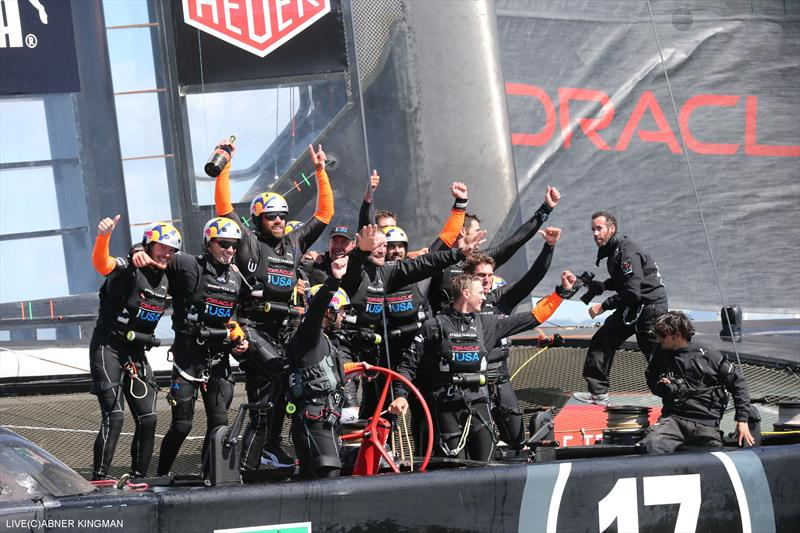 ORACLE TEAM USA win the 34th America's Cup - photo © Abner Kingman / ACEA