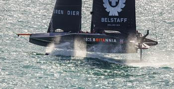 INEOS TEAM UK's 36th America's Cup campaign ends