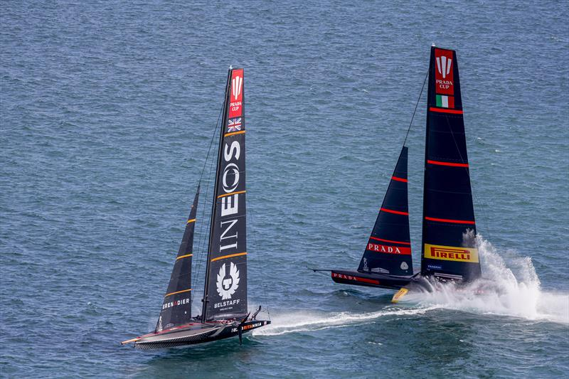 PRADA Cup Round Robin 3 - INEOS TEAM UK vs Luna Rossa Prada Pirelli - photo © COR36 / Studio Borlenghi