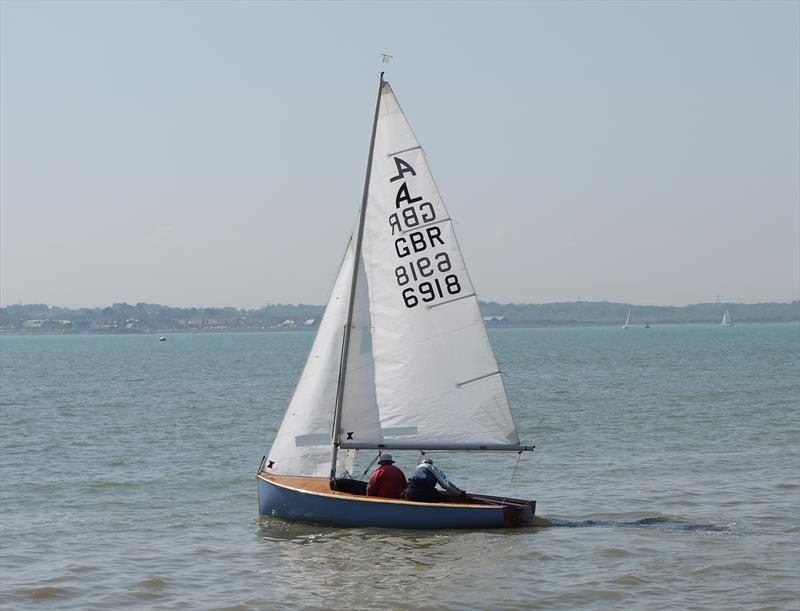 The cull of the first-generation dinghies around Portsmouth Harbour saw new boats such as the Albacore being developed locally - photo © Albacore Class