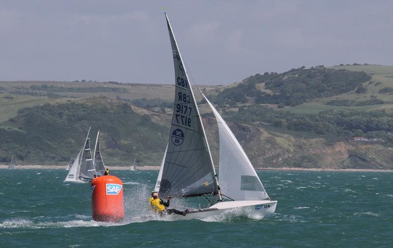 Tom Gillard & Richard Anderton at the 2016 SAP 505 Worlds in Weymouth - photo © Mark Jardine / YachtsandYachting.com