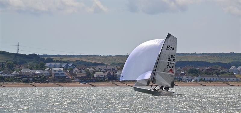 B14 racing at Whitstable