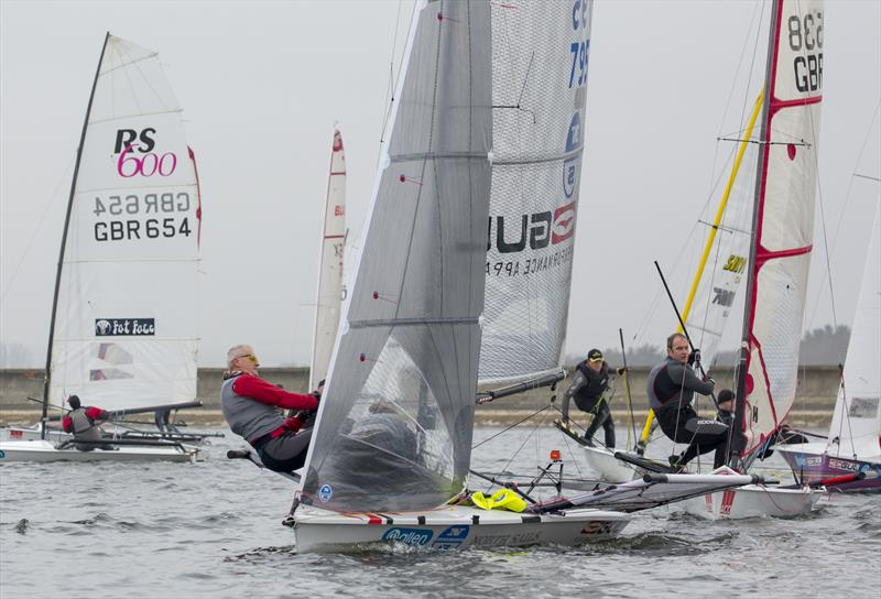 Mark Barnes & Charlotte Jones during the GJW Direct SailJuice Series Oxford Blue - photo © Tim Olin / www.olinphoto.co.uk