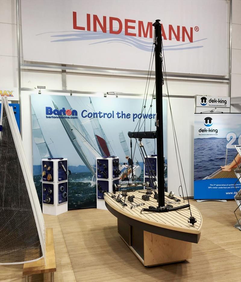 Barton on the Lindemann Stand at Boot Düsseldorf photo copyright Barton Marine taken at  and featuring the  class