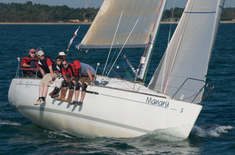 Beneteau First 31.7 Nationals at Lymington Town Sailing Club