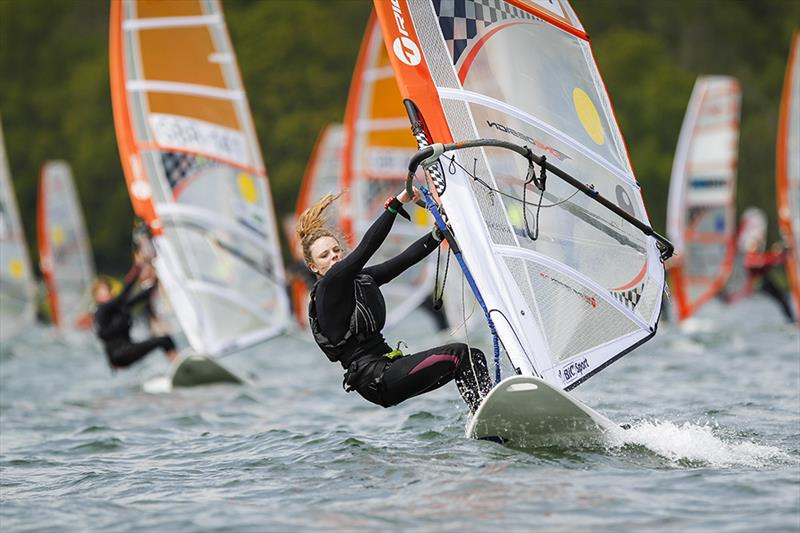 Molly Howell at the RYA Eric Twiname Championships
