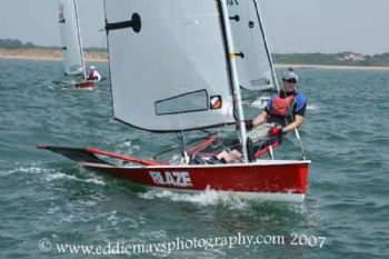 Action from the Blaze nationals at Warsash
