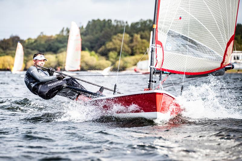 Ben Harden sailing his Blaze during the Inlands at Chase - photo © Peter Mackin / www.pdmphoto.co.uk