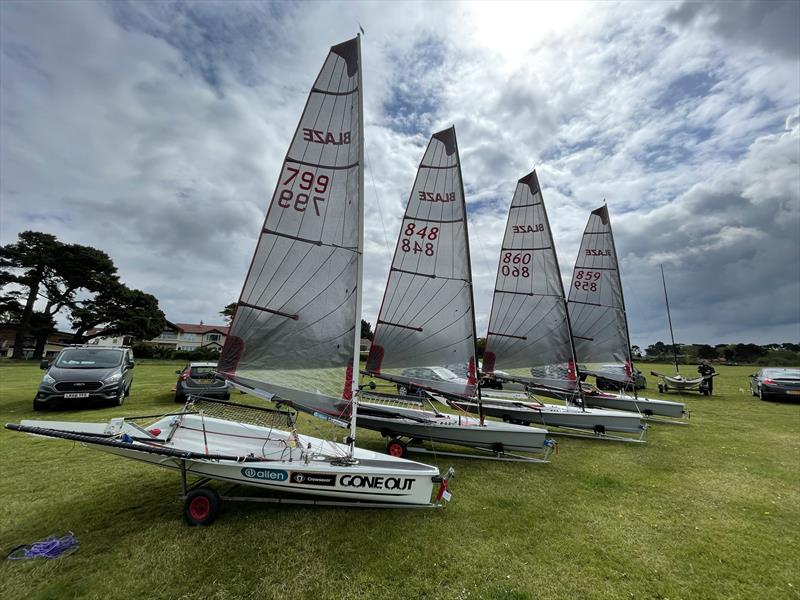 The new Blaze sail is unveiled - photo © WSC