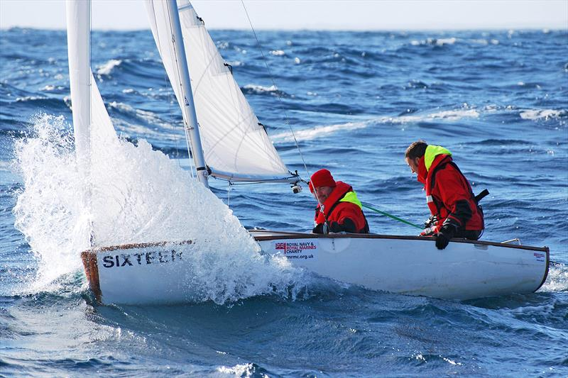 Guinness World Record holders Phil Slade and Mark Belamarich MBE and their record-breaking Bosun dinghy 'Sixteen' - photo © Phil Slade & Mark Belamarich