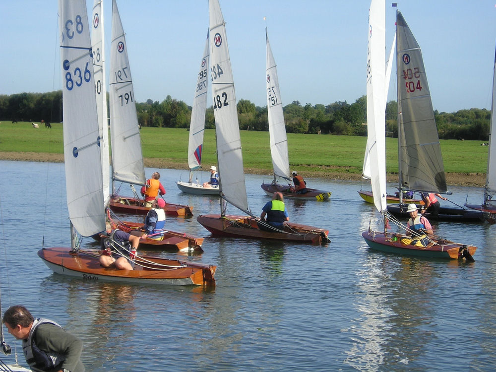 The Bossom's Cup event at Medley Sailing Club attracted a strong fleet of 23 ...