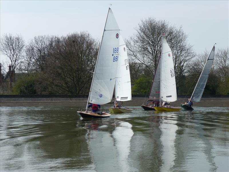 The inaugural British Moth at Mid Warwickshire Yacht Club