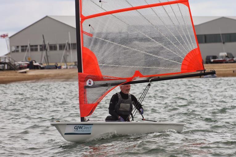 Byte national champion Rick Whitehouse at GJW Direct SailFest - photo © SailRacer