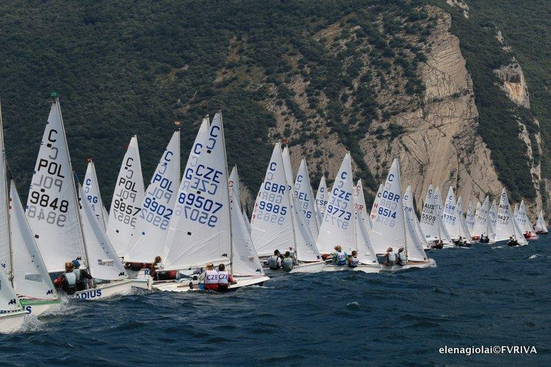2015 Cadet Worlds at Lake Garda - photo © Elena Giolai / Fraglia Vela Riva
